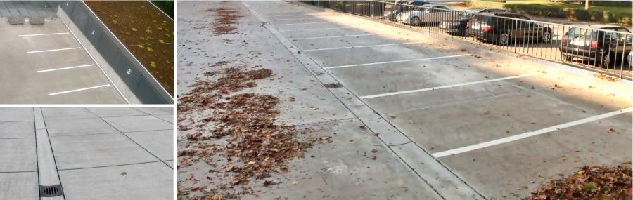 Das Parkdach ist starken Belastungen ausgesetzt | parkcon.de