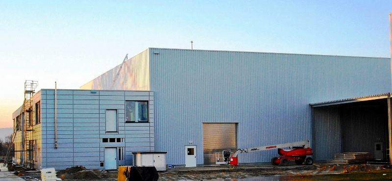 Bornemann Produktionshalle