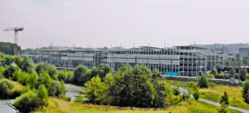 Parkhaubau VW Autovision Wolfsburg