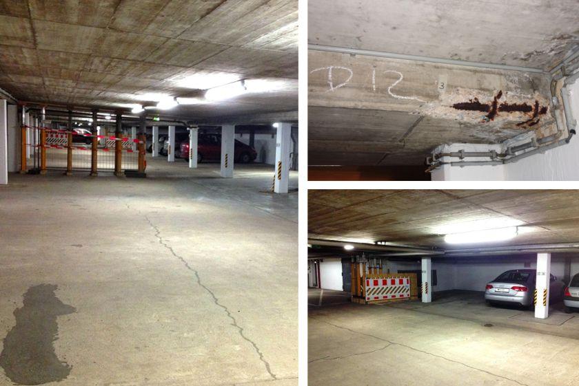 Instandsetzung eines Parkhauses in Mölln | parkcon.de