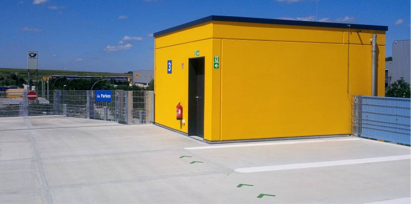 parkcon - Parkhausbau DHL Hamburg-Allermoehe